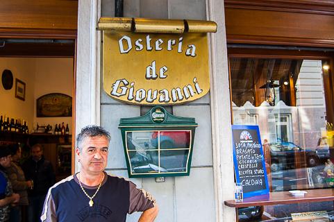 Osteria de Giovanni Trieste