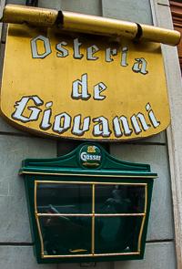 Osteria de Giovanni